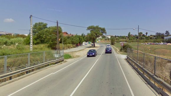 Un ciclista, en estat greu, després de caure a la carretera de Vallvidrera