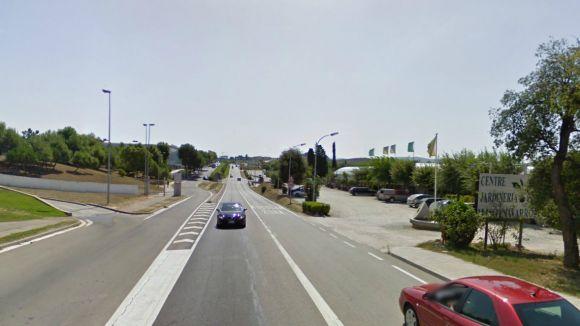 Sant Cugat disposarà d'un nou carril bici a la carretera de Rubí