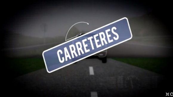 El programa 'Carreteres' recorre la C55 de nord a sud