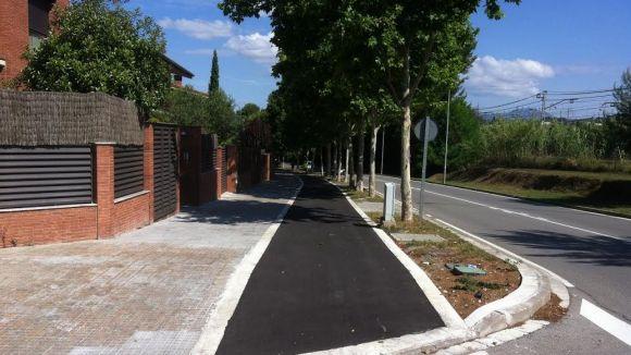 Sant Cugat inverteix gairebé 200.000 euros per asfaltar carrers i renovar voreres