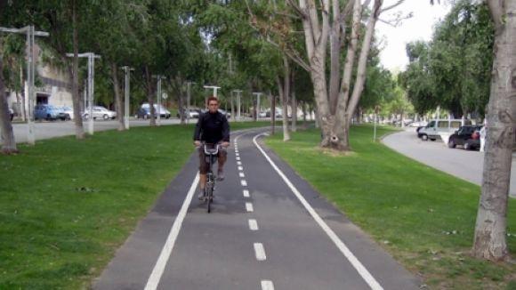 Nou carril bici per unir l'escola Catalunya i l'institut Leonardo amb els FGC Mira-sol
