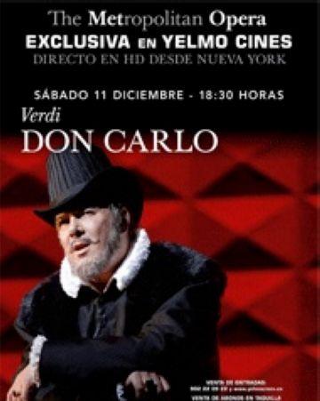 Una òpera al Yelmo és l'única novetat d'aquesta setmana als cinemes de la ciutat