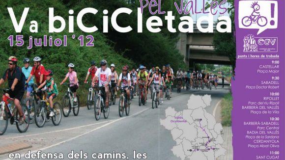 Bicicletada pel Vallès