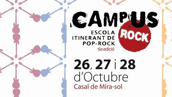 Suspesa la 6a edició del Campus Rock