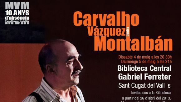 Joan Berlanga serà Pepe Carvalho en una obra a la Biblioteca Central