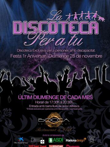 Un any de la discoteca per a persones amb discapacitat intel·lectual