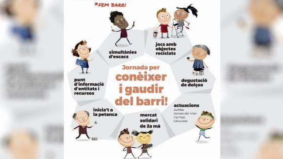 La Xarxa Monestir-Sant Francesc organitza el 'Fem barri', una jornada per conèixer i gaudir de la zona