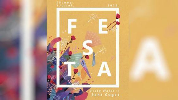 David Feliu guanya el concurs de cartells de Festa Major amb un disseny inspirat en les tradicions i la naturalesa