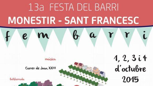 Música i paelles tanquen la Festa Major al barri del Monestir-Sant Francesc