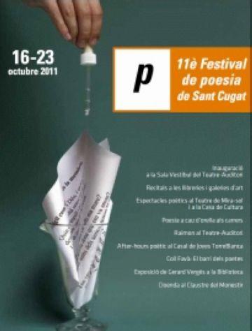 L'11è Festival de Poesia arriba la setmana vinent amb recitals, teatre i música