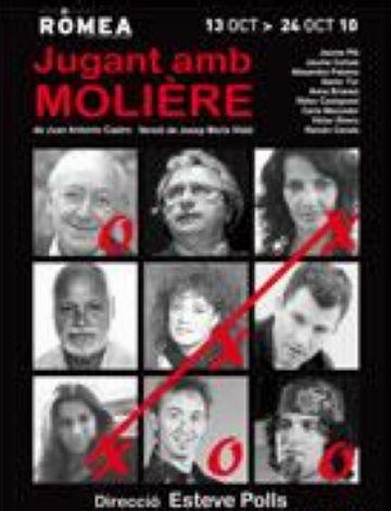 'Jugant amb Molière' s'estrena al Romea amb gran presència santcugatenca