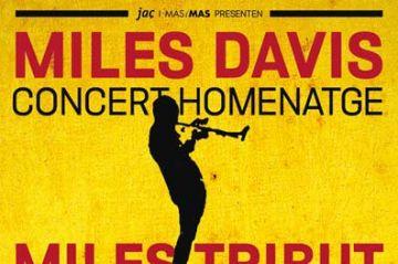 El trompetista Matthew Simon fa un homenatge al músic de jazz Miles Davis, en el marc del San Miguel Mas i Mas Festival