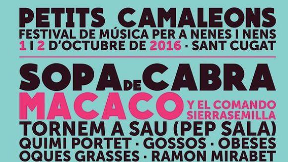 Petits Camaleons celebra el cinquè aniversari amb 'el millor cartell' de totes les edicions l'1 i 2 d'octubre