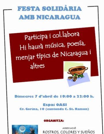Neix a Sant Cugat l'entitat 'Rostros, Colores y sueños' per ajudar el poble de Nicaragua