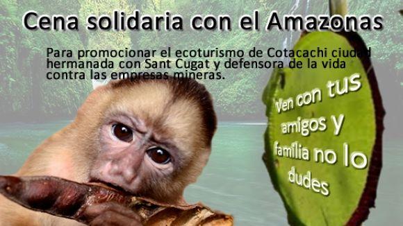 Procés Constituent organitza el primer sopar solidari per l'Amazones