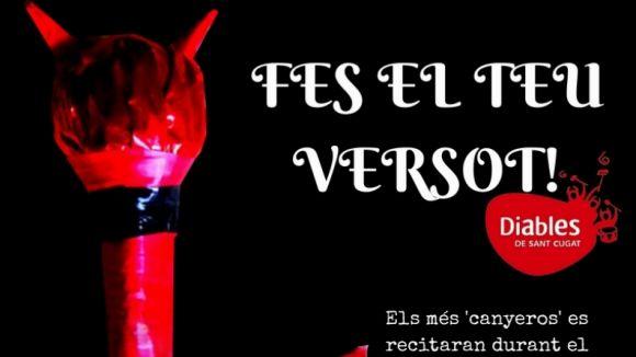 Els Diables obren el 2n concurs de versots de Festa Major