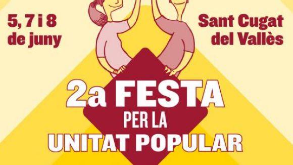 La 2a Festa de la Unitat Popular mostrarà com acabar amb els silencis mediàtics