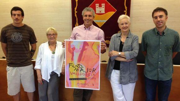 Valldoreix ja té cartell anunciador de la Festa Major
