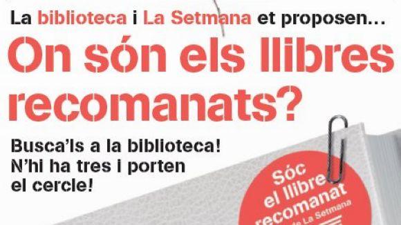 La Biblioteca de Mira-sol se suma a la Setmana del Llibre en Català