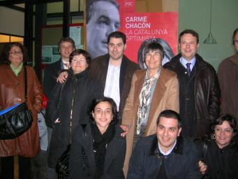 El PSC juga la carta 'Zapatero o Rajoy' per repetir a la Moncloa