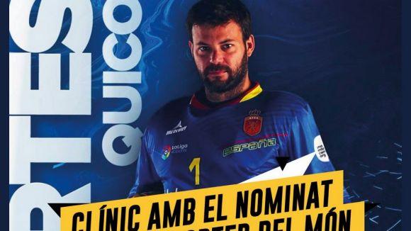 El Junior oferirà un clínic amb Quico Cortés, porter de la selecció i nominat a millor del món