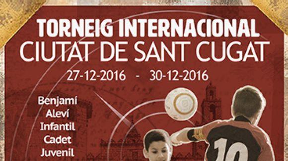 El 1r Torneig Internacional Ciutat de Sant Cugat de futbol sala dóna avui el tret de sortida