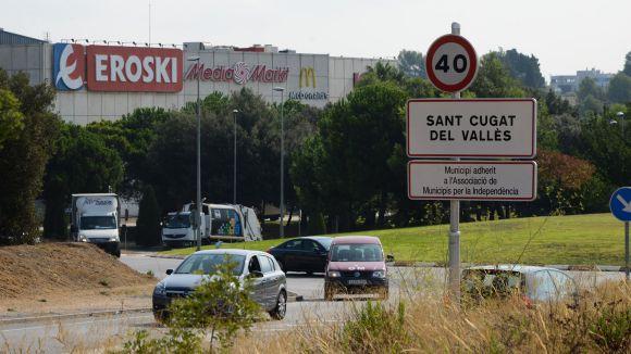 L'Eroski està ubicat al Sant Cugat Centre Comercial / Foto: Ajuntament