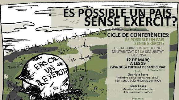 La Unipau proposa la conferència 'És possible un país sense exèrcit?'