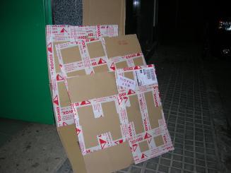 El servei de recollida de cartró als comerços s'intensifica per Nadal