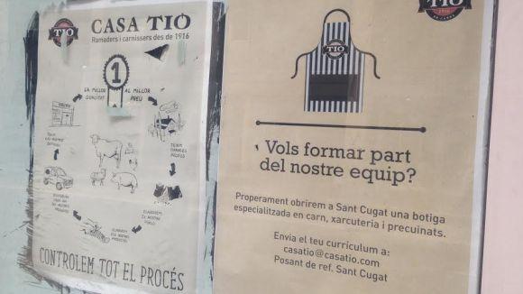 Casa Tió busca treballadors per a la botiga que obrirà a Sant Cugat