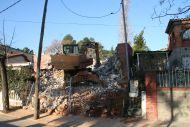 Enderrocada una casa a Valldoreix per incompliment de la normativa urbanística
