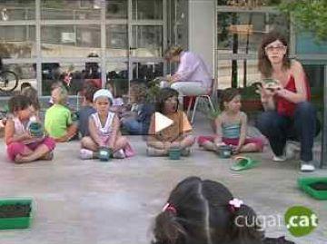 Reportatge de Cugat.cat sobre el casal d'estiu del CEIP Gerbert d'Orlach