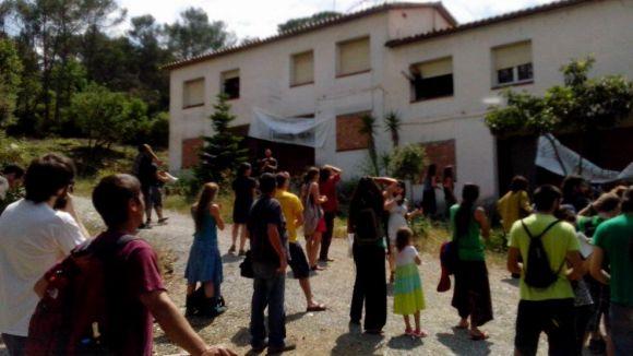 Okupen sis cases a la Floresta per reclamar masoveria urbana a Sant Cugat