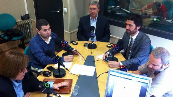 La tertúlia post-ple amb els partits, ara per televisió a Cugat.cat