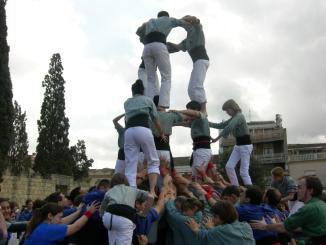 Els Castellers inicien un mes ple d'actuacions