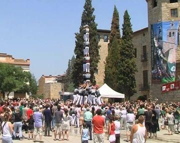 Els Castellers s'aboquen de ple a la Festa Major