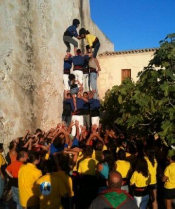 Els castellers consideren un 'èxit' la 2a trobada de colles a Formentera
