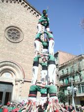 Els Castellers de Sant Cugat afronten la renovació del cap de colla