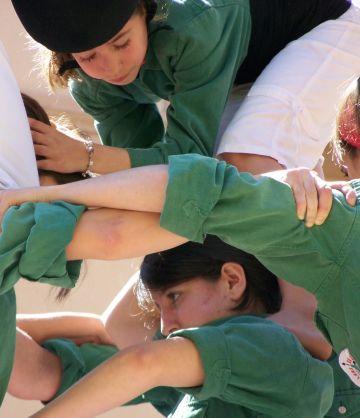 Els Castellers escalfen motors per Sant Ponç que arriba el tercer cap de setmana de maig
