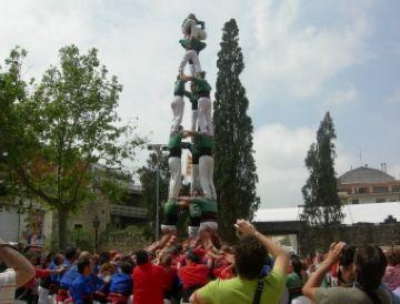 Punt final a la Quinzena Verda amb l'actuació de Sant Ponç i l'estrena del local de Castellers