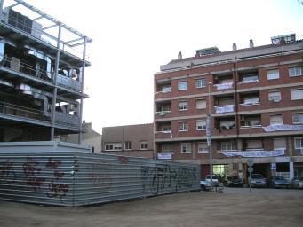 Les obres de la Casa de Cultura generen protestes dels veïns del carrer Castellví