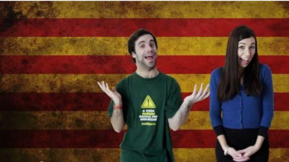 Una santcugatenca crea la primera websèrie 'de la Catalunya independent'