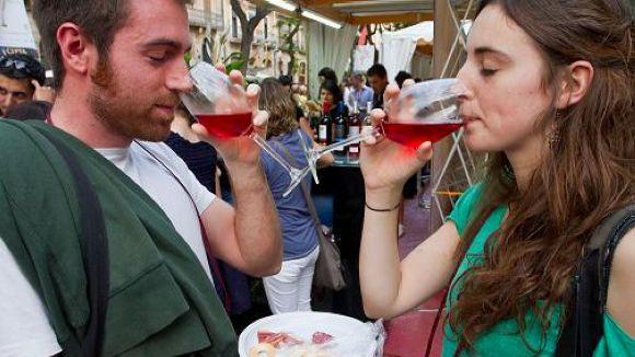 Neix la primera Fira del Vi de Sant Cugat