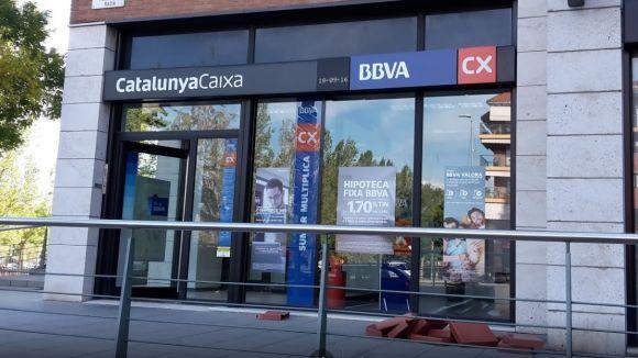 Les oficines de CatalunyaCaixa de Sant Cugat ja s'han integrat a BBVA
