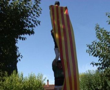 Les entitats reivindiquen els drets del poble català en les ofrenes a Rafael Casanova