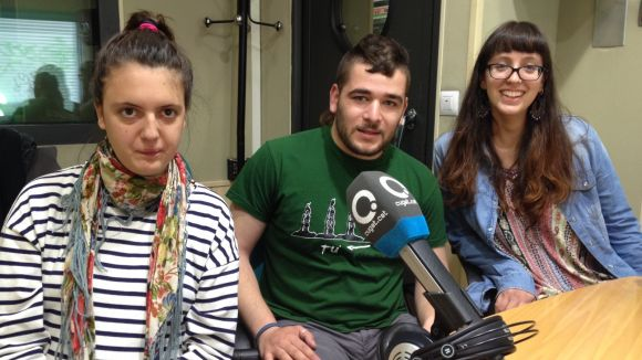 Elia Guirado, Gerard Comerma i Carlota Arús