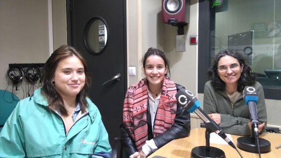 Camila Bocage, María Solbes i Ester Puigmartí
