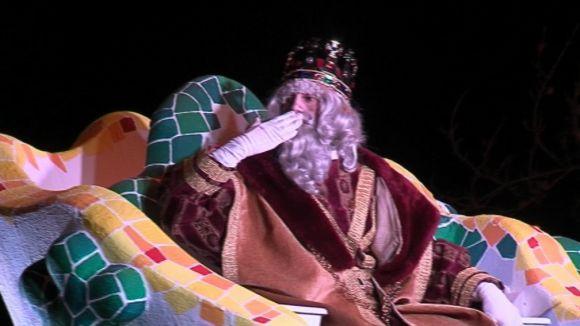 Milers de santcugatencs acompanyen els Reis a la ciutat