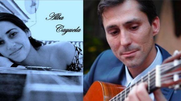 Alba Cayuela i Marc Menier Duo posen el ritme al vermut de l'Espai Estrella