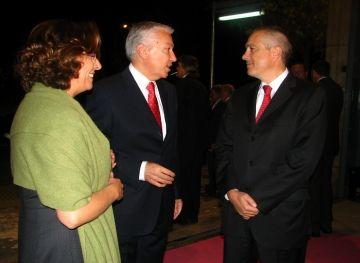 El president de la Cecot carrega contra la política econòmica de Zapatero a la Nit de l'Empresari